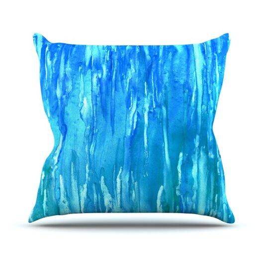 KESS InHouse Wet & Wild Throw Pillow