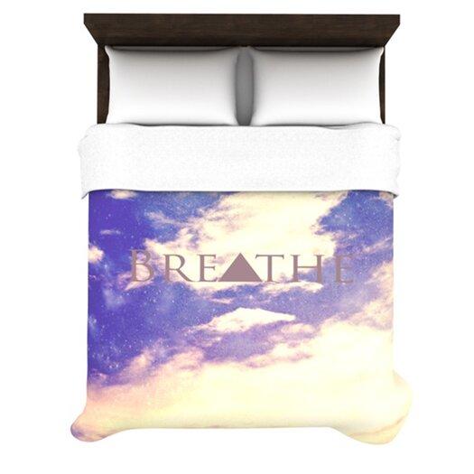 KESS InHouse Breathe Duvet Cover