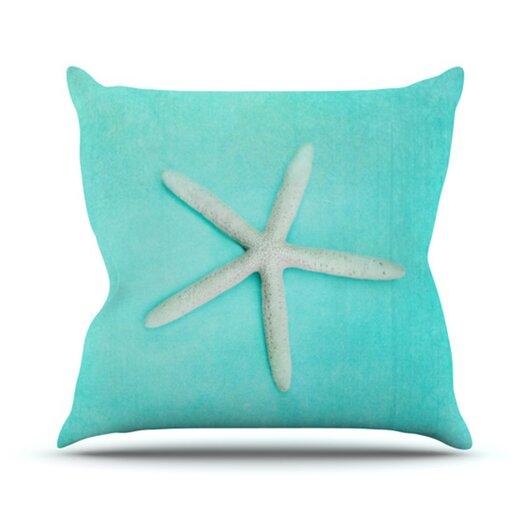 KESS InHouse Starfish Throw Pillow