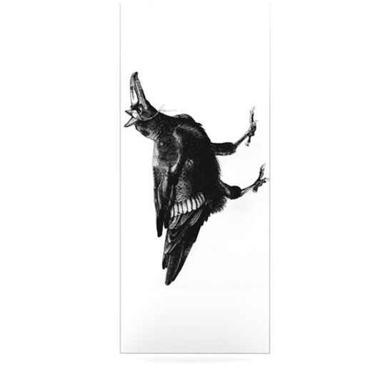 KESS InHouse Raven by Sophy Tuttle Graphic Art Plaque