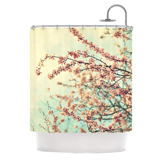 KESS InHouse Take a Rest Polyester Shower Curtain