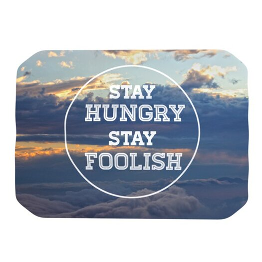 KESS InHouse Stay Hungry Placemat
