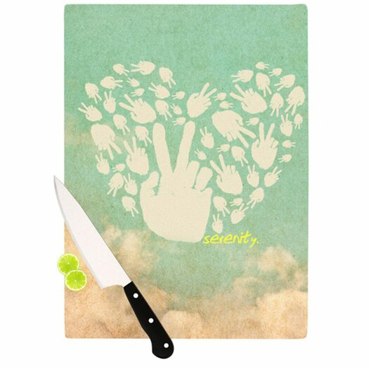 KESS InHouse Serenity Cutting Board