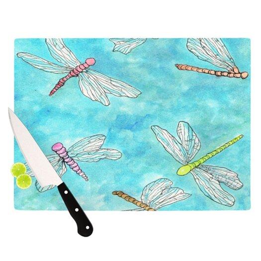 KESS InHouse Dragonfly Cutting Board