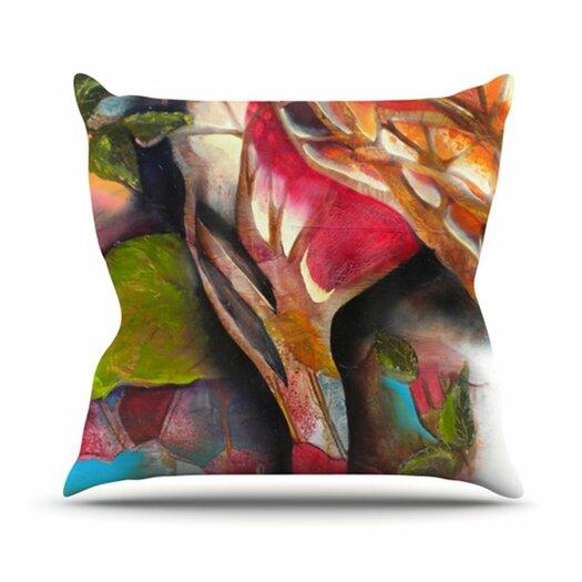 KESS InHouse Glimpse Throw Pillow