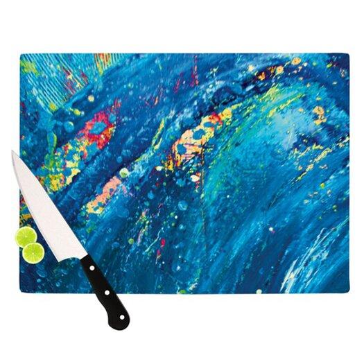 KESS InHouse Big Wave Cutting Board