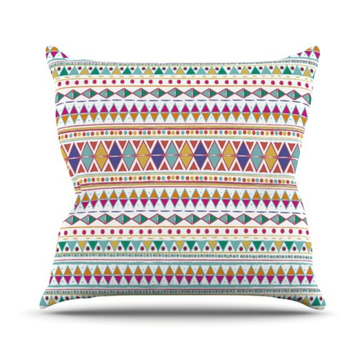 KESS InHouse Native Fiesta Throw Pillow