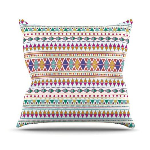 KESS InHouse Native Fiesta Throw Pillow