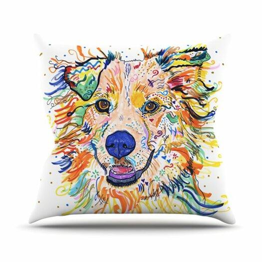 KESS InHouse Jess Throw Pillow