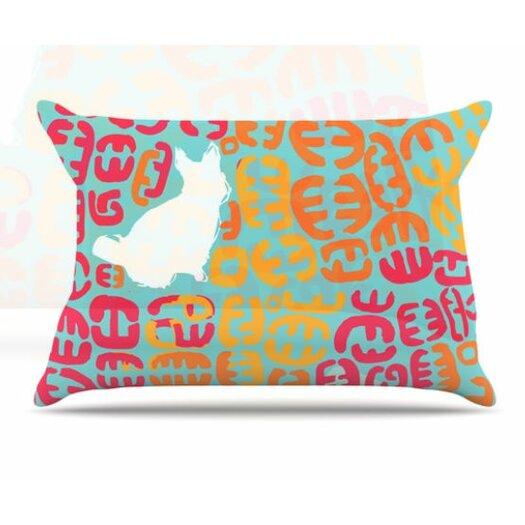 KESS InHouse Oliver Pillowcase