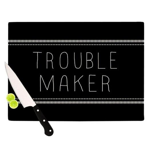 KESS InHouse Trouble Maker Cutting Board