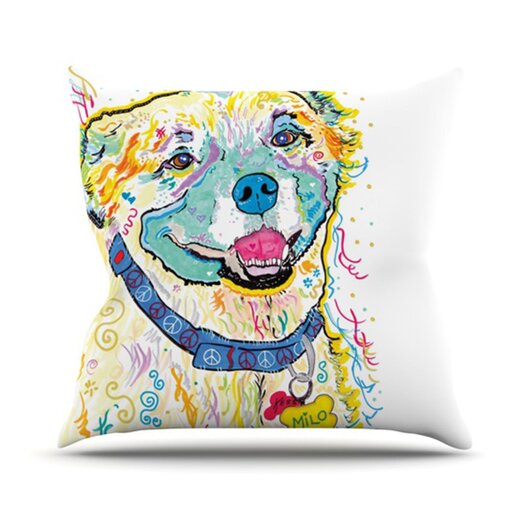 KESS InHouse Milo Throw Pillow