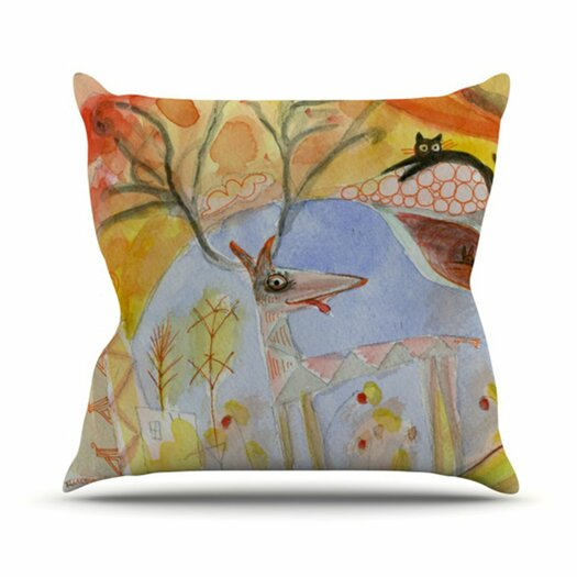 KESS InHouse Promise of Magic Throw Pillow