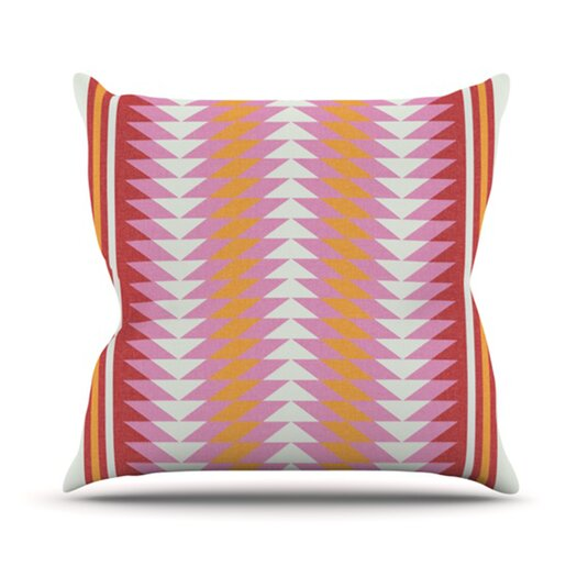 KESS InHouse Bomb Pop Throw Pillow