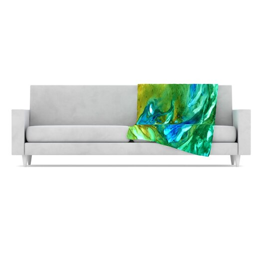 KESS InHouse Hurricane Fleece Throw Blanket