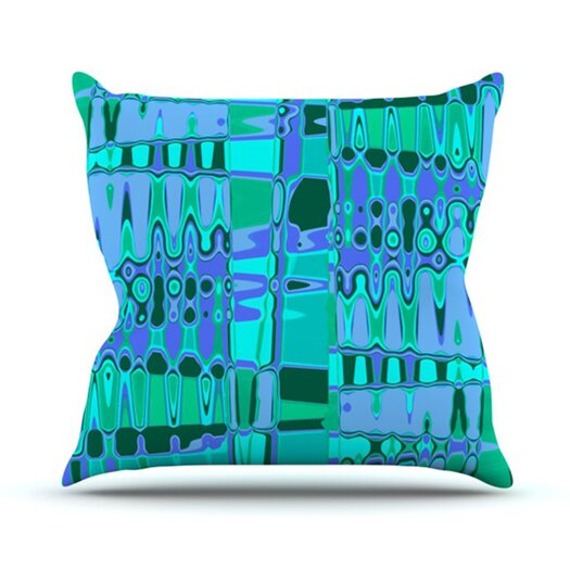 KESS InHouse Changing Gears Throw Pillow