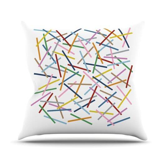 KESS InHouse Sprinkles Throw Pillow