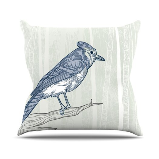 KESS InHouse Jay Throw Pillow