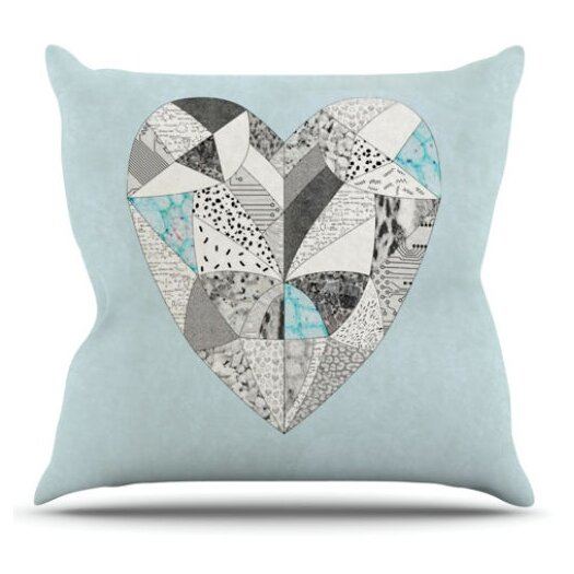 KESS InHouse Comheartment Throw Pillow