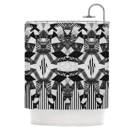 KESS InHouse Tessellation Polyester Shower Curtain