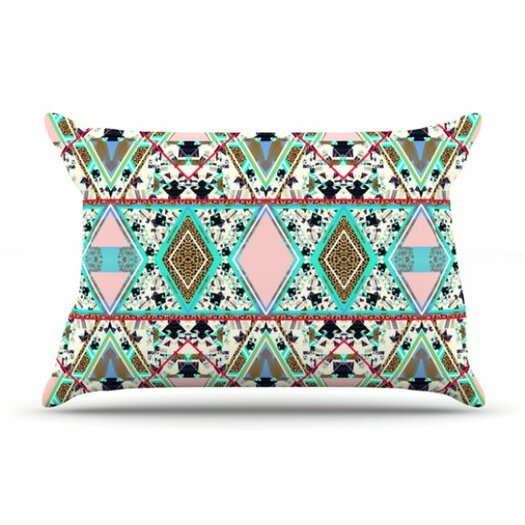 KESS InHouse Deco Hippie Pillowcase