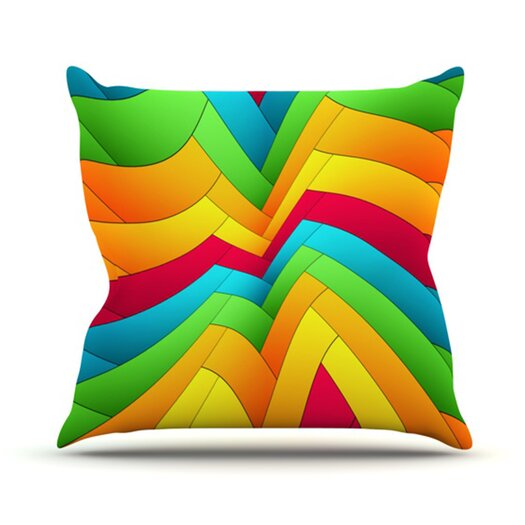 KESS InHouse Olympia Throw Pillow