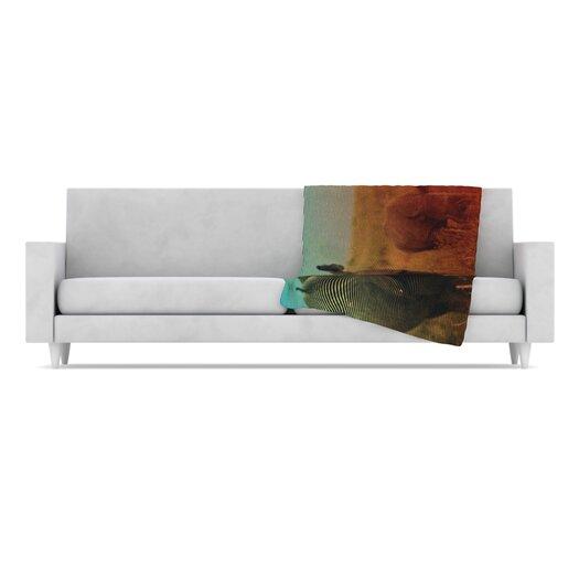 KESS InHouse Abstract Rhino Microfiber Fleece Throw Blanket