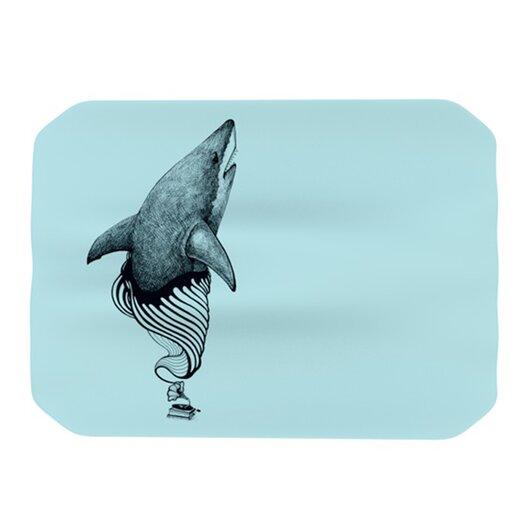 KESS InHouse Shark Record II Placemat