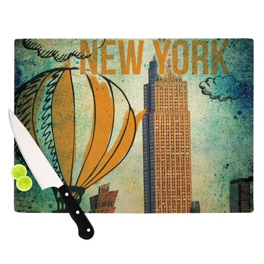 KESS InHouse New York Cutting Board
