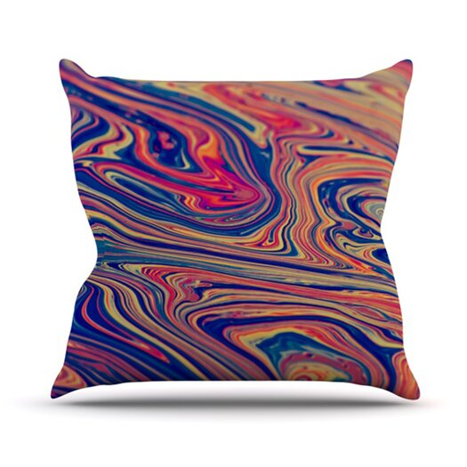 KESS InHouse Soap and Water Throw Pillow