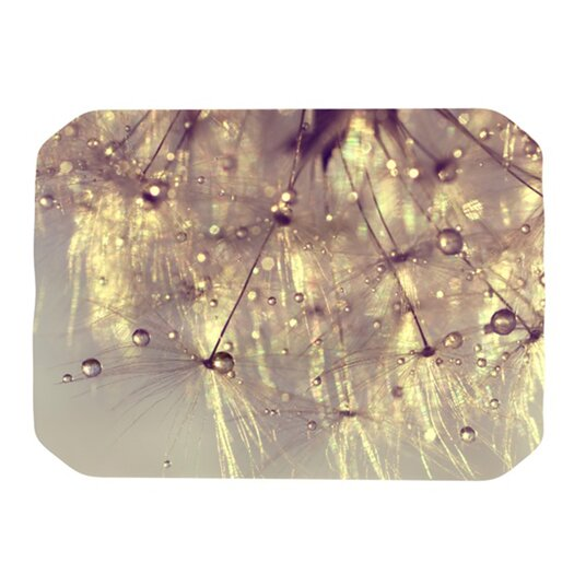 KESS InHouse Sparkles of Gold Placemat