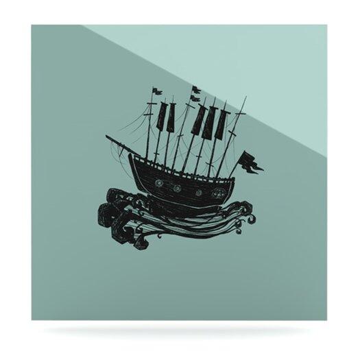 KESS InHouse Ship by Jaidyn Erickson Graphic Art Plaque