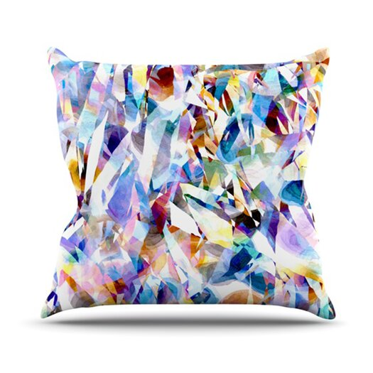 KESS InHouse Buzz Throw Pillow