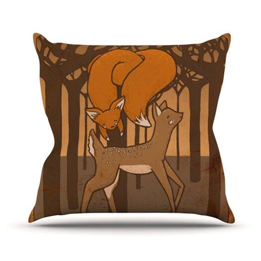 KESS InHouse Friends Throw Pillow