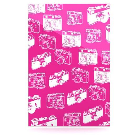 KESS InHouse Camera Pattern by Original Graphic Art Plaque