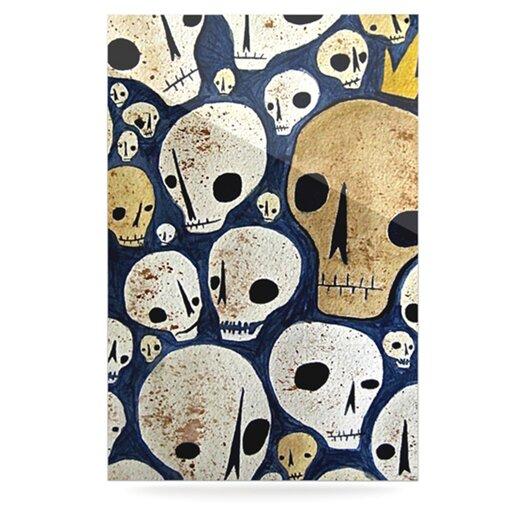 KESS InHouse Skulls by Jaidyn Erickson Graphic Art Plaque