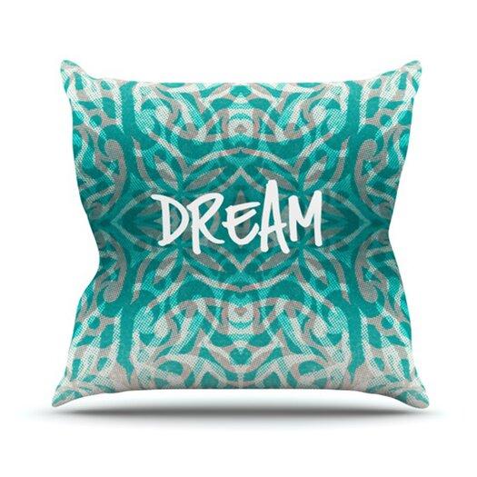 KESS InHouse Tattooed Dreams Throw Pillow
