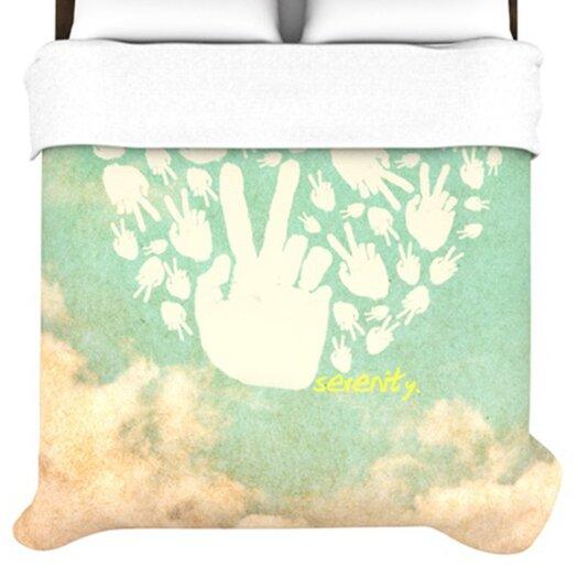 KESS InHouse Serenity Duvet Cover