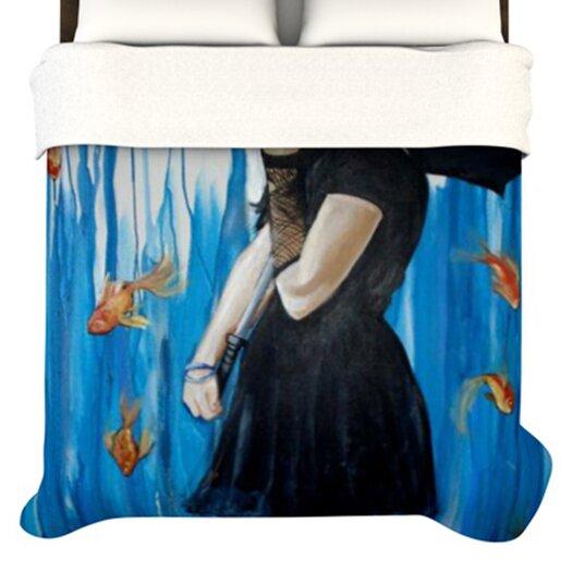 """KESS InHouse """"Sink or Swim"""" Woven Comforter Duvet Cover"""