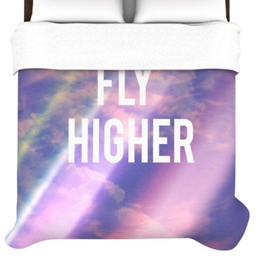KESS InHouse Fly Higher Duvet Cover
