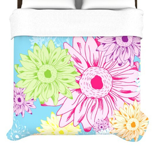 KESS InHouse Summer Time Duvet Cover