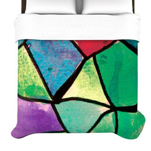 KESS InHouse Stain Glass 1 Duvet Cover