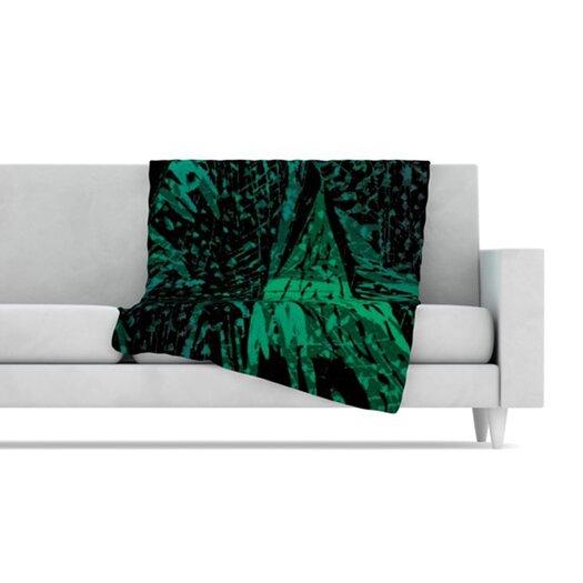 KESS InHouse Family 4 Fleece Throw Blanket