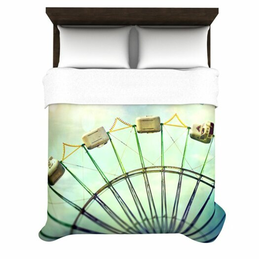 KESS InHouse Every Summer Has a Story Duvet Cover