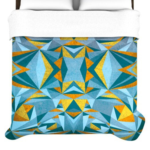 KESS InHouse Abstraction Duvet Cover