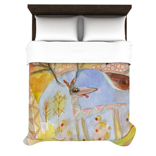 KESS InHouse Promise of Magic Duvet Cover