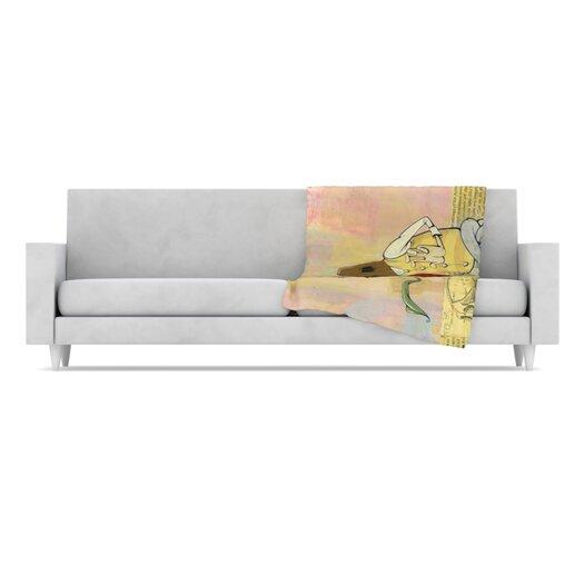 KESS InHouse Thalamus Fleece Throw Blanket