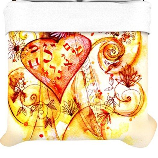 KESS InHouse Tree of Love Duvet Cover