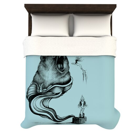KESS InHouse Hot Tub Hunter II Duvet