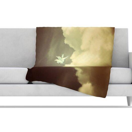 KESS InHouse Pegasus Fleece Throw Blanket